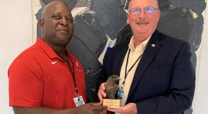 Alumnus recognized by his peers as Alabama's top sheriff for 2021