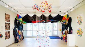 Janet Nolan exhibit on display at Troy University's International Arts Center