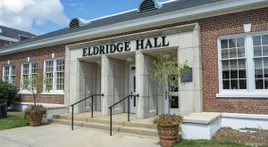 Eldridge Hall is home to the McNair program and other student success programs.