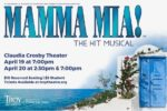 TROY presents 'Mamma Mia!' April 19-20