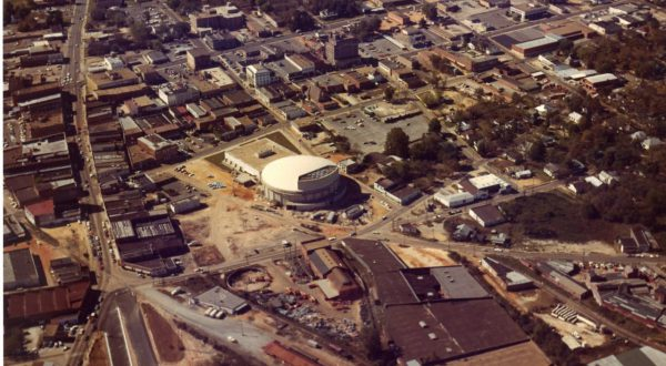 It Came from the Archives: Aerial images of Dothan through the years